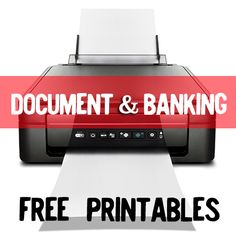 Important documents and banking printables. Download these for free! Insurance Tracker Bank Account Info Password Log Online Passwords Log Emergency Information Doctor Visits Medical Expenses Monthly Bill Organizer Monthly Budget Printable Monthly Budget Worksheet Annual Bill Schedule FREE Printables by Category: Misc. FREE Printables Day Planner Printables Blog Planner Printables FREE Document and Banking Themed