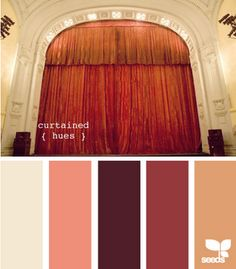 curtained hues // design seeds