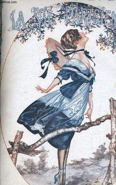 Chéri Hérouard (1881 – 1961). La Vie Parisienne, 21 Juillet 1917. [Pinned 31-vii-2015]