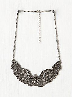 Ornate Etched Collar in accessories-jewelry