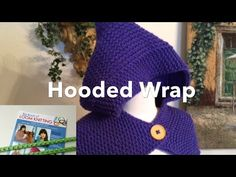 How to Read Loom Knit Pattern | Hooded Wrap - http://www.knittingstory.eu/how-to-read-loom-knit-pattern-hooded-wrap/