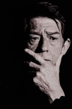 John Hurt ~ photographed by Greg Gorman.