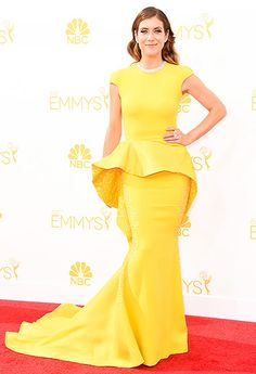 Kate Walsh: 2014 Emmys Stephane Rolland  LOVE this!