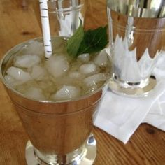 Mint Julep recipe #anappealingplan #cocktails