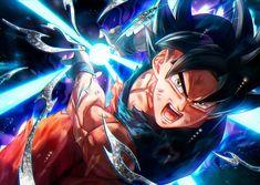 Goku use his Powerful Blast - The Kame Hame Ha Dragon Ball Gt, Son Goku, Wallpaper Do Goku, Wallpaper Art, Anime Store, Animes Wallpapers, Anime Characters, Manga Anime, Poster