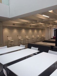 Casala Curvy chairs & stools with Lacrosse tables in AUB Photography Building