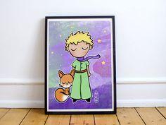 Resultado de imagen para el principito y el zorro de espaldas Watercolor Pencil Art, The Little Prince, Little Boys, Nursery Decor, Art For Kids, Origami, Art Drawings, Scrap, The Originals