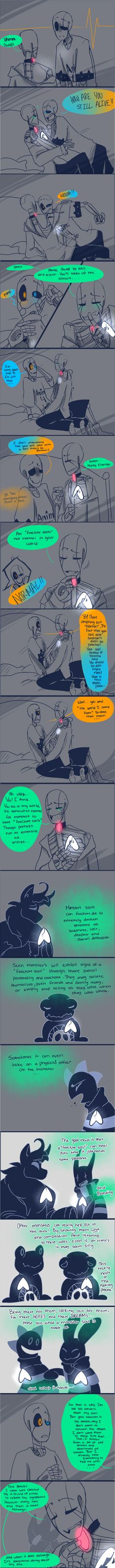 wow...I should have made this into two parts....oh well! TBC PS sorry for misspellings and the mess up on the 2nd panel! I think I like this style for my GG comics<<< too awesome to not pin. NewTales and SwapTale Gaster 2/3