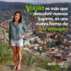To travel is more than discover new places, is a new way of seeing the world  #WeLoveTraveling www.rutamexico.com.mx Whatsapp: (722)1752392 email: info@rutamexico.com.mx  #ViajesAcadémicos #ViajesDeIntegración #ViajesTurísticos #ViajesGrupales #México