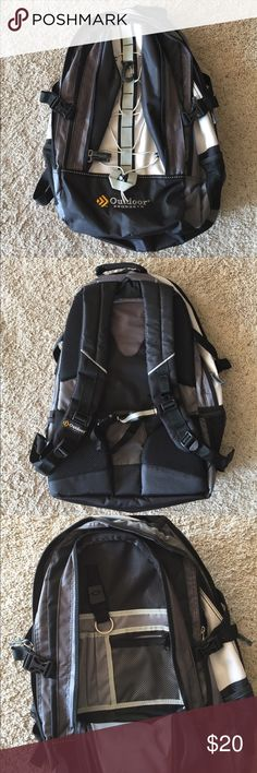 """New No Tags Outdoor Products Vortex BLK Backpack Brand New! No Tags  Outdoor Products Vortex BLK 🎒 Backpack.   School, Hiking, Camping, Travel etc.   Deluxe padded back for added ventilation.  Hydration reservoir compatible. 3 compartments.  Full organizer pockets with detachable key clip.  Front elastic straps to hold extra gear.  Size is approximate 20.5"""" x 14"""" x 7""""  🚭 Smoke-free.  ❗️New without tags.  💲Priced to sell and not inflated.   💲Firm unless bundled. Outdoor Products…"""