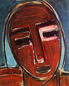 Self-Portrait (1938) by Wilfredo Lam. Art Experience NYC www.artexperiencenyc.com/social_login/?utm_source=pinterest_medium=pins_content=pinterest_pins_campaign=pinterest_initial