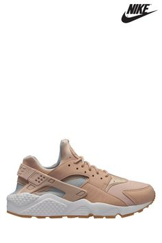 detailed look ccfcc e62e4 Womens Nike Huarache Run - Cream
