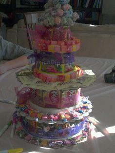 Nina's 6yo birthday candy cake!!