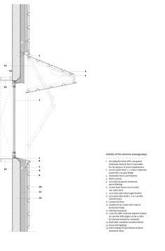 160-unit home for dependent elderly people in Villejuif #arquitectura #dibujos #secciones constructivas #detalles