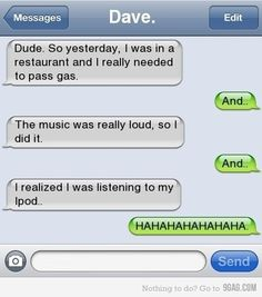 Ha ha ha, so awesome!