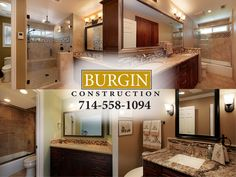 After several months with a beautiful new kitchen, the Baehr family couldn't stand walking into any one of their four 80′s style bathrooms. They were outdated, and completely impractical spaces. So, once again, they called upon the Burgin Construction Team to do what we do best.    We split the project into two phases so that the family had to deal with as little inconvenience as possible, and got to work! New fixtures, flooring, lighting. DeWil's Cabinetry...