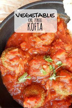 Oil Free Vegetable Koftas, made with 6 simple ingredients! Cabbage, Cauliflower, Oats and three seasonings! SIMPLE, VEGAN and TASTY!