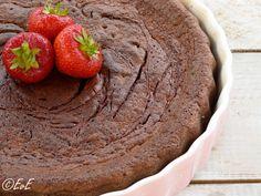 glutenvrije lactosevrije suikervrije chocoladetaart