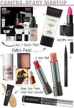 Must-have makeup products to be perfectly camera-ready!