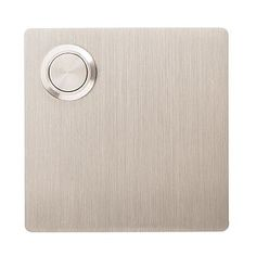 Doorbell.  Create a clean exterior aesthetic with the addition of a modern Doorbell.