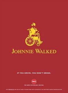Johnnie.... #DontDrinkAndDrive #Alcohol #RoadSafety