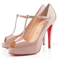 Pompes Chaussure Louboutin Pas Cher Burlina 120mm Nude0 #talon