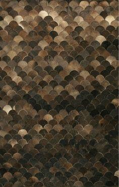 Om man ändå hade massa små läderbitar hade man kunnat göra en snygg matta