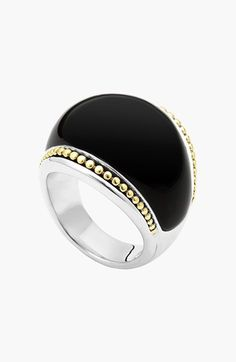 LAGOS LAGOS 'Enso' Semiprecious Stone Dome Ring available at #Nordstrom