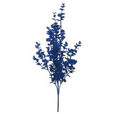 Blooming Holiday Eucalyptus Bush-Royal Blue (40.275 IDR) ❤ liked on Polyvore featuring christmas and backgrounds