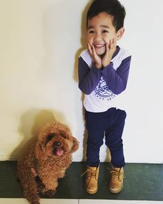 Cuteness overload. Timberland Kids, Timberland Style, Boy Fashion, Babys, Your Style, Dogs, Cute, Animals, Shopping