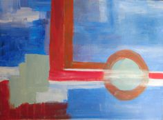 Abstract. Acrylic.