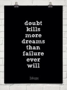 Doubt v. Failure