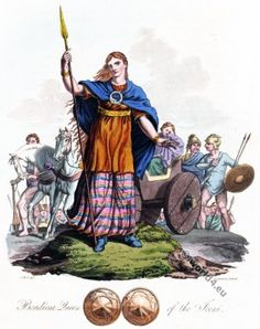 Boudicca queen of the British Iceni tribe.