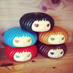 Yoshitomo Nara gummi head girls