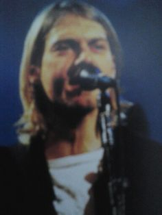 Kurt during Live n aloud