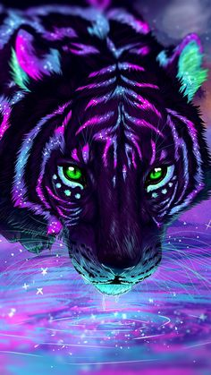 63 new ideas fantasy animal art drawings beautiful Lion Wallpaper, Animal Wallpaper, Tiger Wallpaper Iphone, Laptop Wallpaper, Cute Animal Drawings, Art Drawings, Tiger Pictures, Cat Background, Mythical Creatures Art