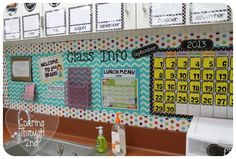 Soaring Through Second Grade: Classroom Tour (Finally) AKA Picture Dump!