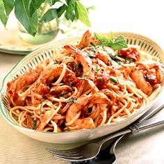 Speedy Pasta Dinners: Linguine Fra Diavolo (via Parents.com)