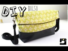 DIY: Tutorial Bolso estilo clutch. PATRONES GRATIS - YouTube