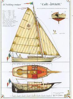 Cute Dream 26' Holiday Sailer