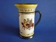 Royal Doulton 'Canterbury Pilgrims' Concord Jug D3188 c1910