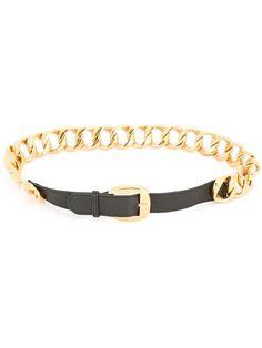 Chanel Vintage curb chain belt
