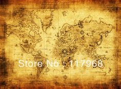 Old Memories, Emitated Ancient World Map Sailing Map Treasure Map Home Decoration, Wall Decorative Canvas Paintings-in Painting  Calligraphy from Home  Garden on Aliexpress.com $23.14