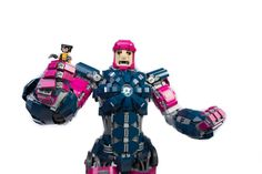 Sentinels unleashed! Enormous LEGO X-Men Sentinel stands over 3 feet tall and lights up