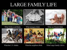 Large Family Life: answers for the crazy questions people ask!