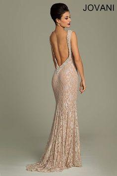 Jovani Backless Dress