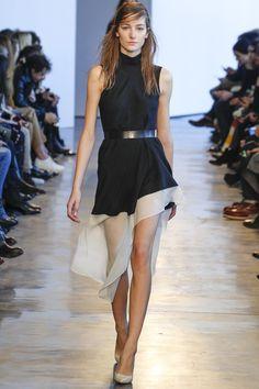 Theory Ready to Wear Fall/Winter 14/15 Asymmetrical Dress