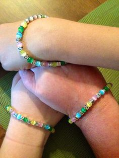 Sterling Silver Name Bracelet with MultiColored by ShadesOfBling, $35.00