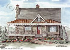 Creekstone Cabin House Plan | House Plans by Garrell Associates, Inc