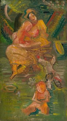 Arnold Peter Weisz-Kubínčan: Matka s deťmi:1931 - 1939